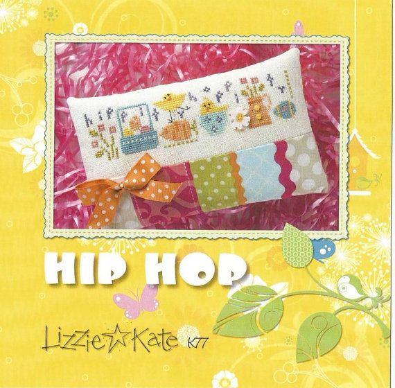 LIZZIE KATE Hip Hop Kit  K77  Cross Stitch by NeedleCaseGoodies