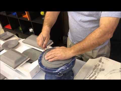 American Ceramic and Glass Supply Presents: Clay Hump Mold Demo with Rafael - YouTube
