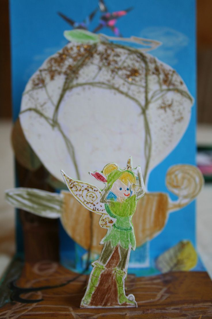 Invitation card to birthday party for my daughter Lovisa. Disney fairy Tinker Bell.