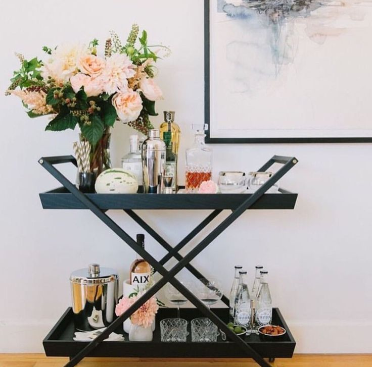 1077 best Bar Carts images on Pinterest | Small spaces, Storage and 1