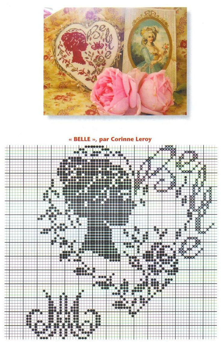 Points de croix *♥* Cross stitch Heart