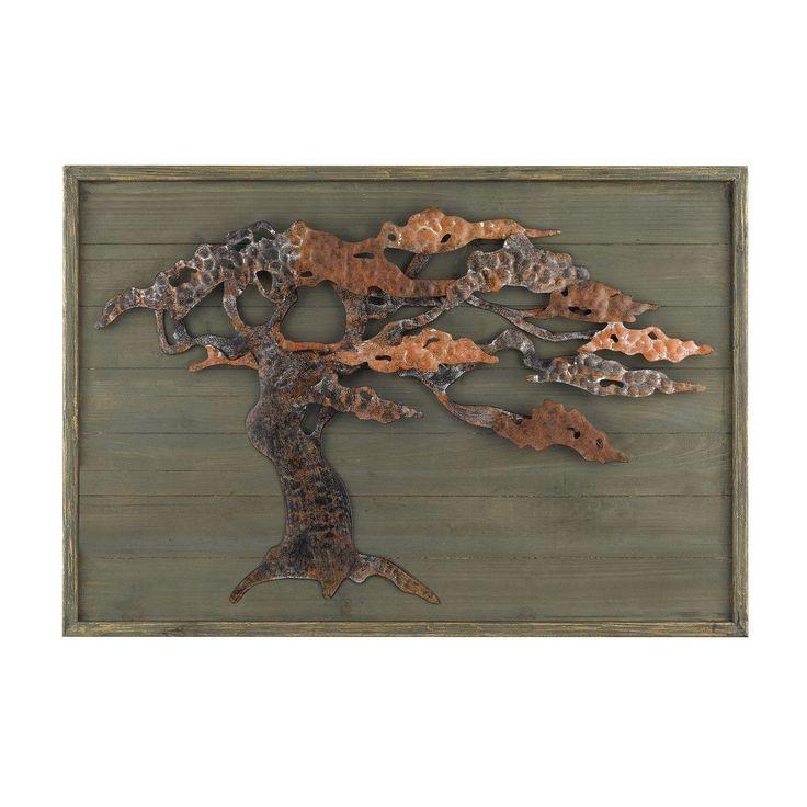 Wood & Metal Tree Wall Art 138-173