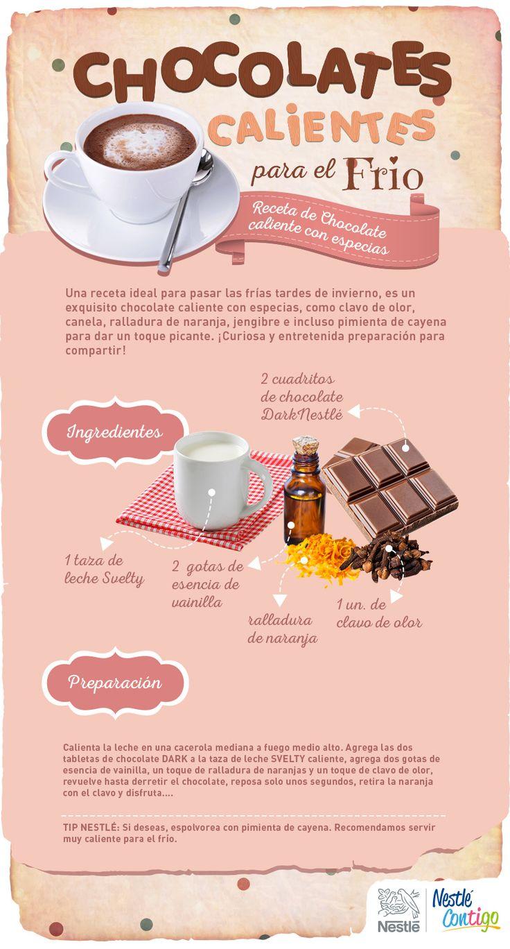 Chocolates calientes para el frío   Ideas para compartir   Nestlé Contigo