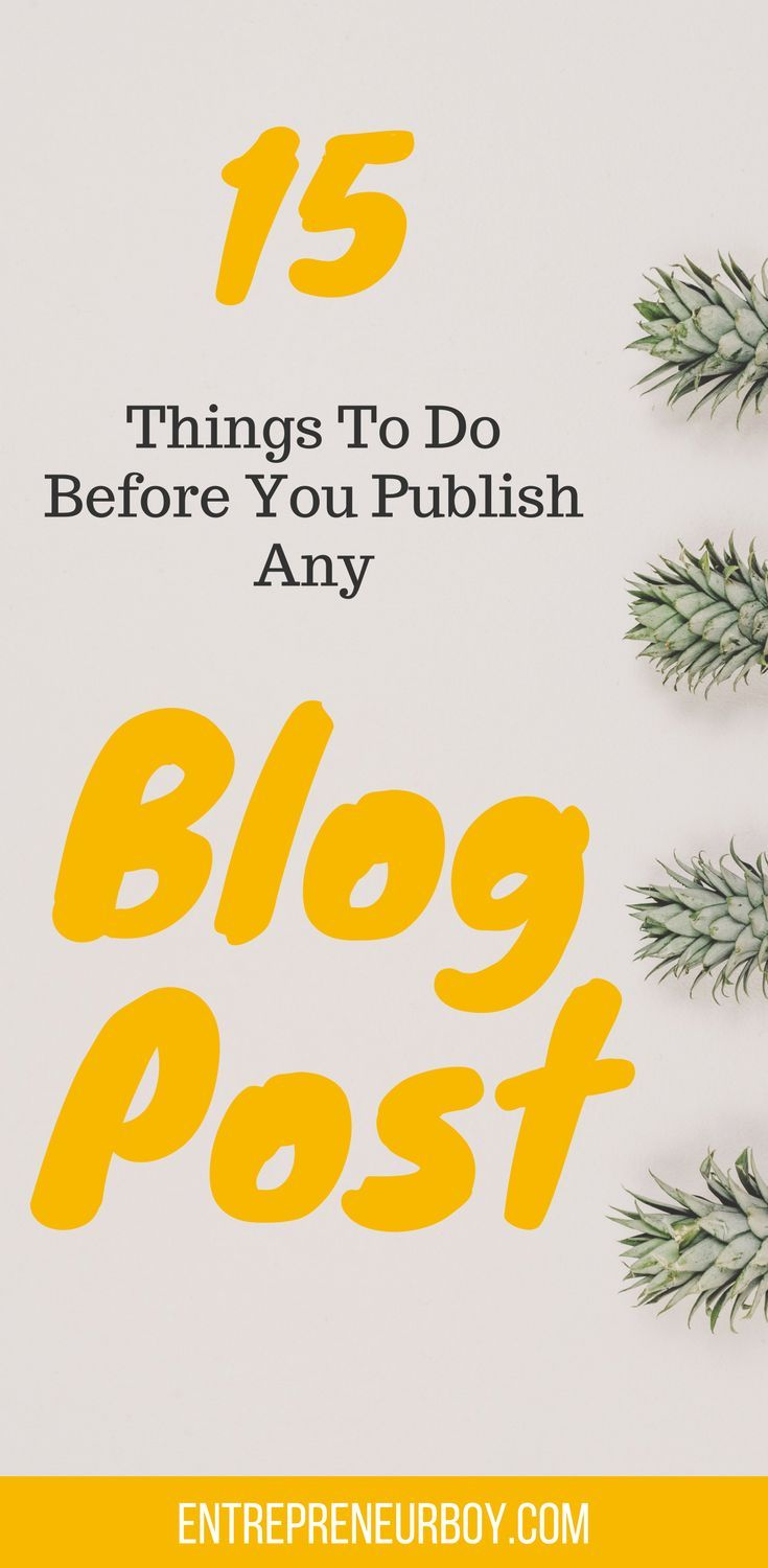 Getting traffic to your blog depends on the steps you take. Before you publish any blog post, be sure that you've done everything possible to make it a hit. Learn how to do so by following these simple yet effective blogging tips.