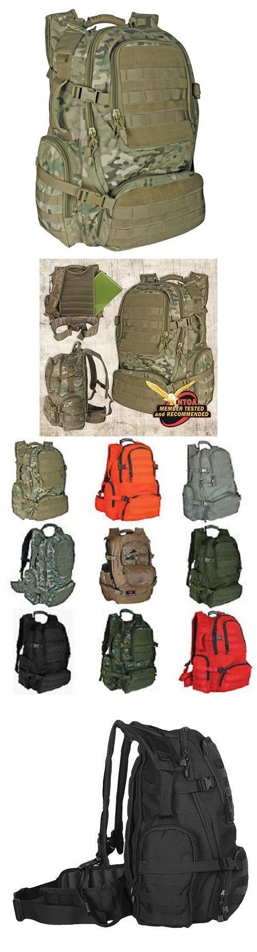 Day Packs 87122: New - Military Tactical Field Operator S Molle Backpack - Genuine Multicam Camo -> BUY IT NOW ONLY: $89.95 on eBay!