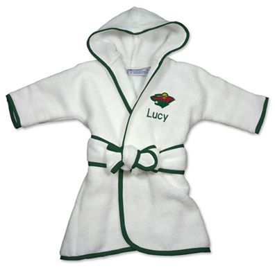 9 best toronto maple leafs baby gifts images on pinterest baby officially licensed personalized minnesota wild robe will keep your little nba fan snuggly warm and cozy ottawarobesfansminnesota wildbaby negle Gallery