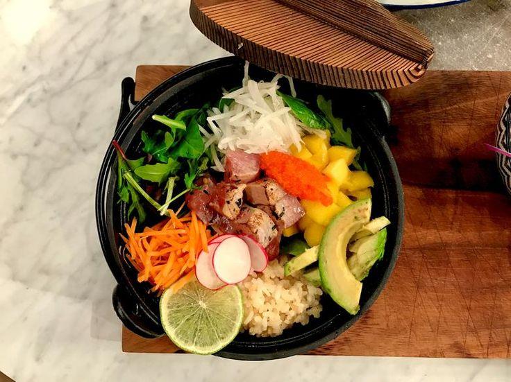 Poké bowl Hawaiian tuna