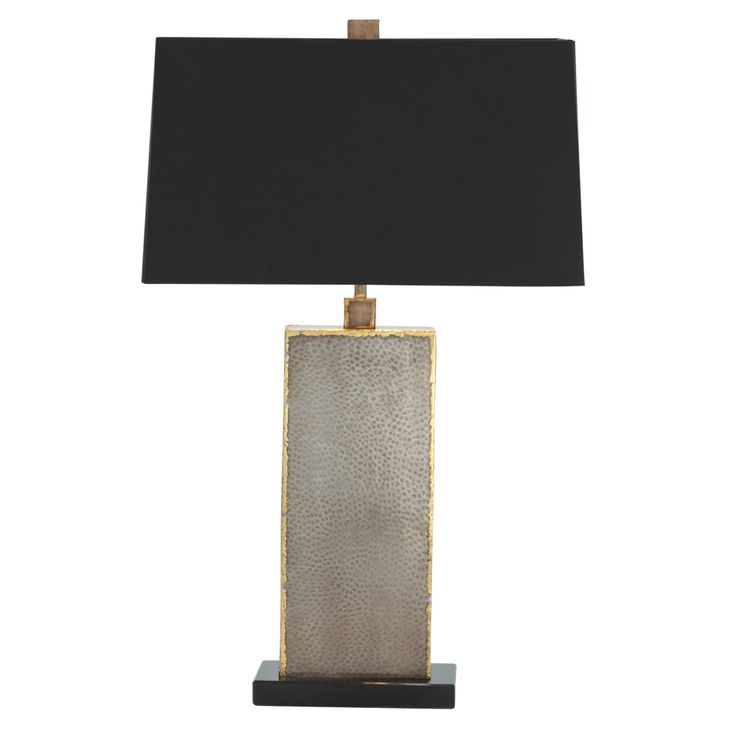 Arteriors home graham natural iron brass marble table lamp arteriors home