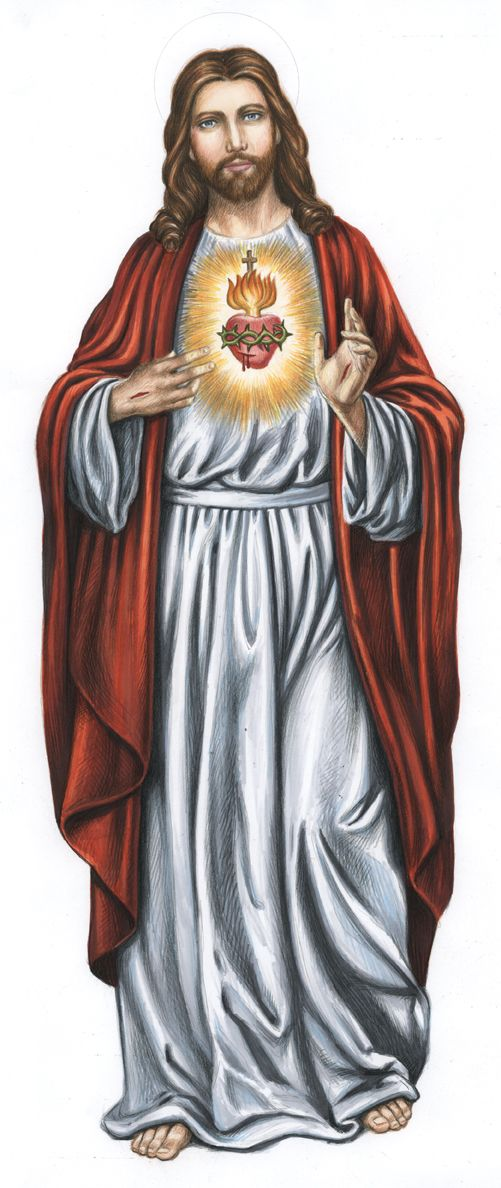 Sacred Heart of Jesus (Nicholas Mikesell)