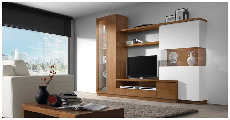 20 best mueble sala de tv images on pinterest tv rooms Muebles para tv modernos