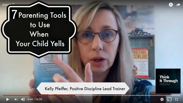 7 Parenting Tools to Use When Your Child Yells