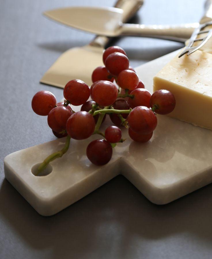 Fair Trade - Handmade in Pakistan - Marble Cutting Board