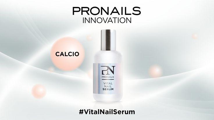 Scopriamo insieme #VitalNailSerum e tutti i suoi 6 componenti... #6 il CALCIO, che come sicuramente saprete, è indispensabile  alla crescita e alla salute delle unghie. VitalNailSerum, il trattamento naturale che ripara, protegge e rigenera! #pronailsitalia #pronails #loveyourhands #sopolish