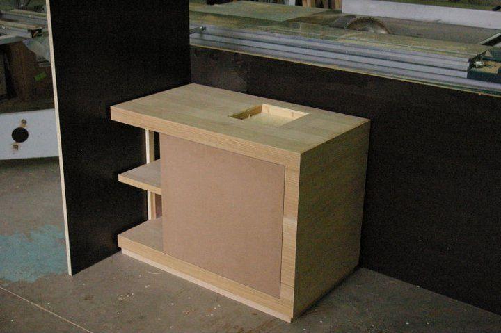 Fabrication wash basin