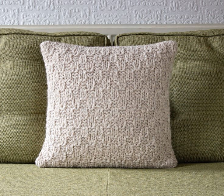 Knitted Pillow Cover & 50 best cushion cover - knit images on Pinterest | Cushions ... pillowsntoast.com