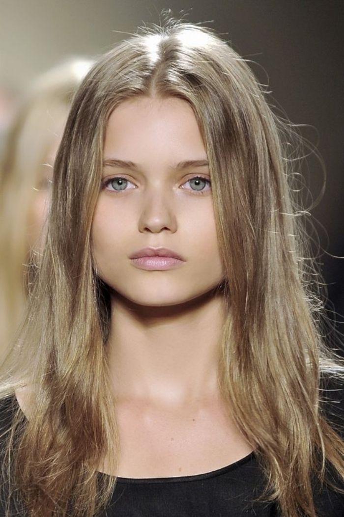 Couleur de cheveux pour yeux bleu clair