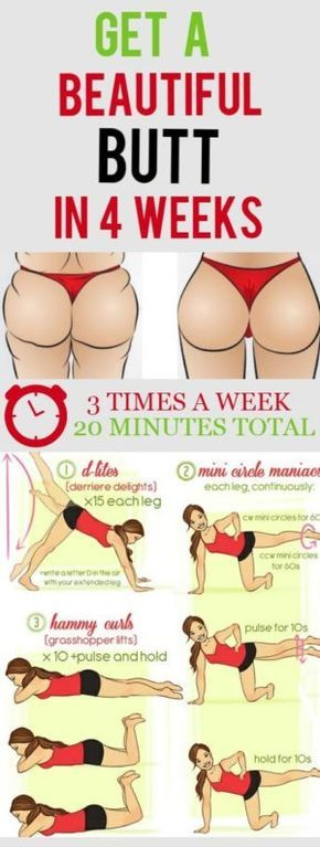 Get a Beautiful Butt in 4 Weeks – Fit Remedies