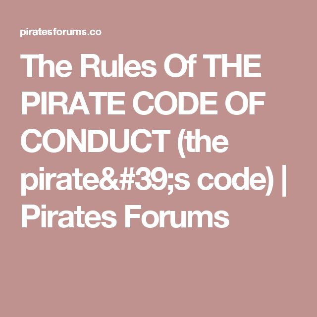 Best 25+ Pirate code ideas on Pinterest Sparrow app, Jack the - code of conduct example