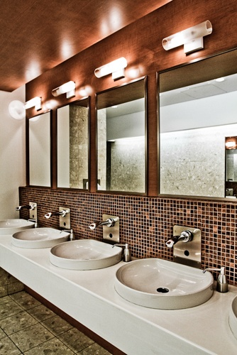 101 best images about public restroom ideas on pinterest for Beautiful washrooms