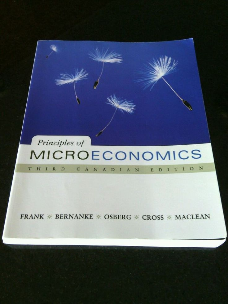 Principles of Microeconomics Third Canadian Edition Paperback Core Principles b | eBay