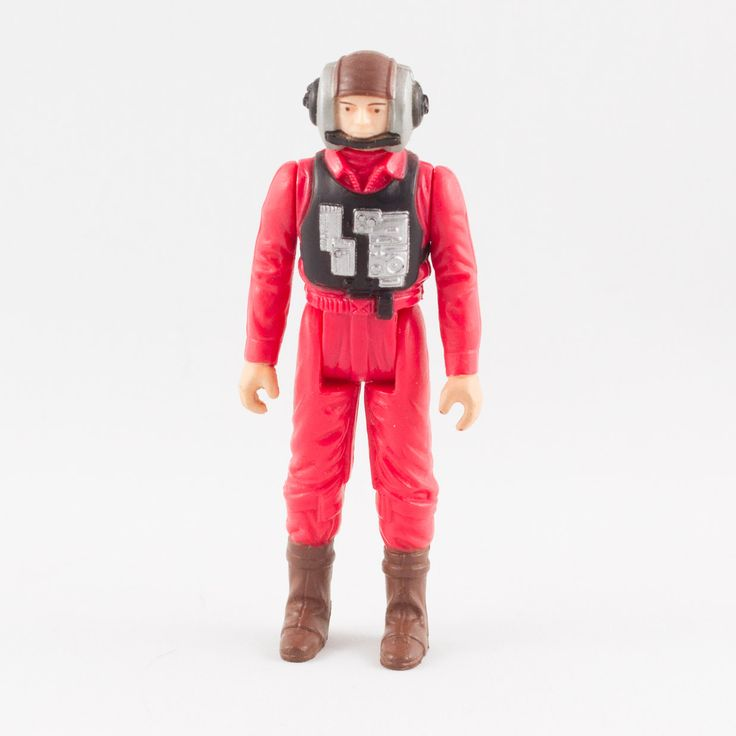 B-Wing Pilot, This vintage Kenner Star Wars B-Wing Pilot action figure is in mint  condition and is an excellent addition to any collection. The limbs are very firm, allowing a wide range of poses. The paint finishing is crisp and sharp.