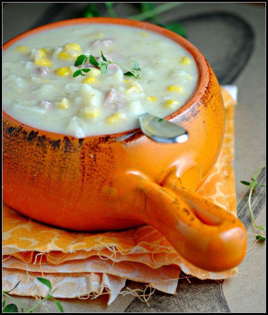 Crock Pot Potato Corn Chowder..