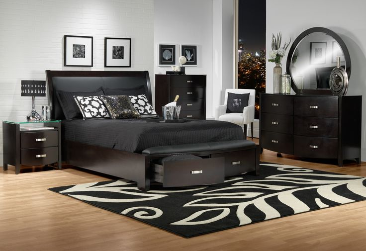 Bedroom Furniture-The Cinema Collection-Cinema Queen Bed