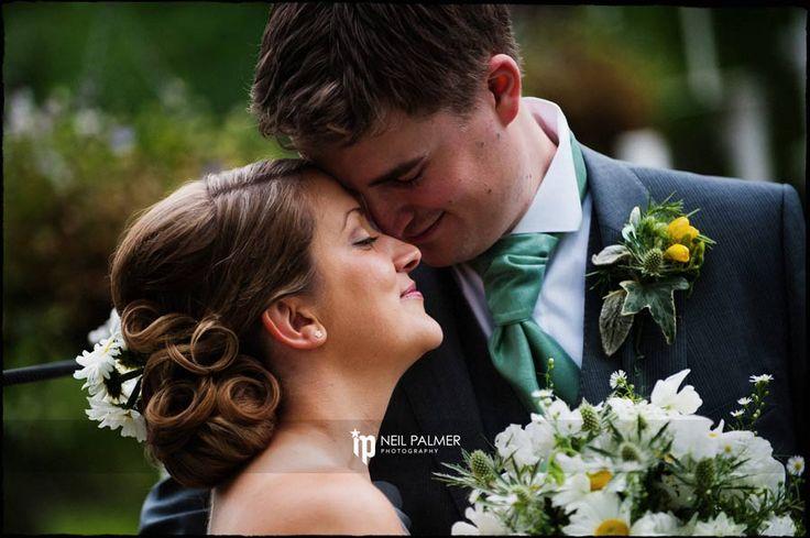 Wedding Photography at Monkey Island Berkshire – Kate and Jonathan having a quiet reflective moment on the bridge #monkeyisland #weddingphotography