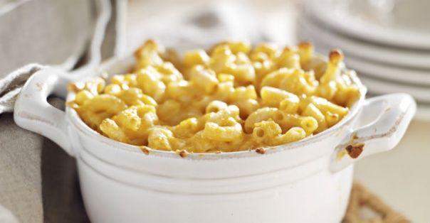 Homemade Single-Serve Microwave Macaroni and Cheese in a Mug #healthy #recipes