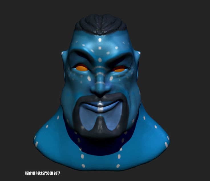 This is a render of a character I made in Sculptris. Now I am using it to build blendshapes in ZBrush and later animating him in Maya. You can see the animations on Youtube here: youtu.be/JdMucvgJ-58