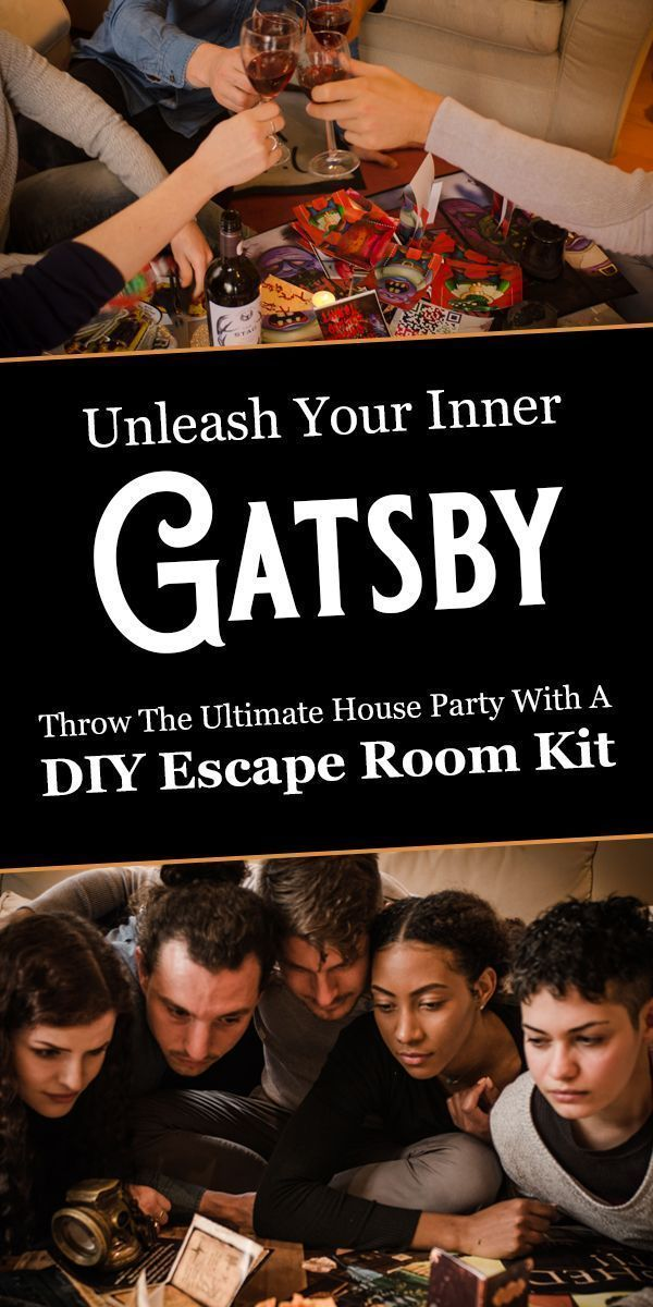 Ultimate House Party Escape Room Escape Room Home Party Games Fun Games For Adults