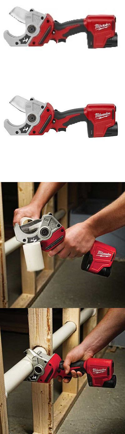 Other Power Saws and Blades 122838: Milwaukee 2470-21 M12 12V Cordless Pvc Shear Kit -> BUY IT NOW ONLY: $199 on eBay!
