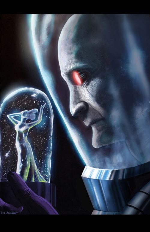 Batman: Mr. Freeze by Livio Ramondelli - One of the few villians I actually feel really sorry for; poor Mr. Freeze. :(