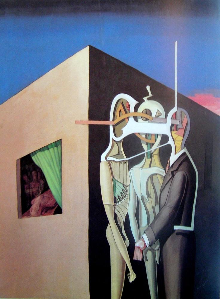 Conspiration by Victor Brauner