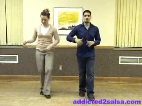 Salsa Dance Basic Steps Lesson