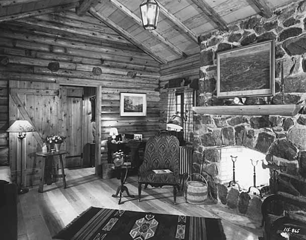 Log Cabin Living, Ellicott City, Maryland, 1936