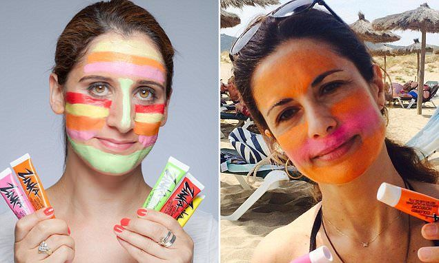 The rainbow face paint that can save you from sunburn and ageing UVA