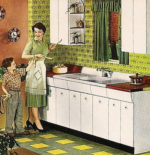 Kitchen - 1954
