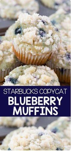 Starbucks Copycat Blaubeermuffins – CUP CAKE (ALL CAKE)