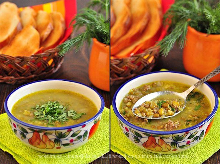 Суп из маша и фарша. Этот суп готовлю уже 3-4 года с лёгкой руки… - Вкусная пауза
