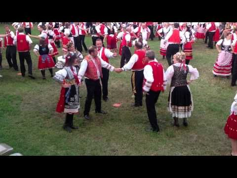 ▶ 2013 Tabor, SD Czech Days - Beseda Dancers - YouTube