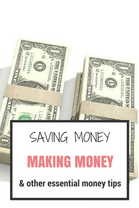 Saving money, Making money & other essential money tips all in one convenient place