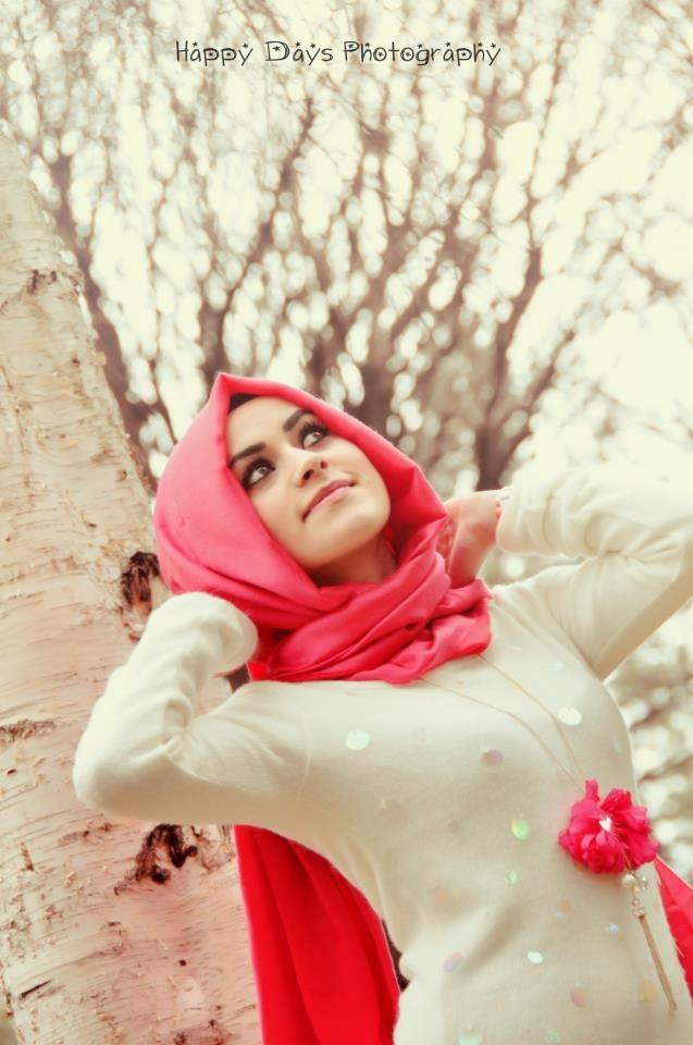 hijab, hijabi, pink