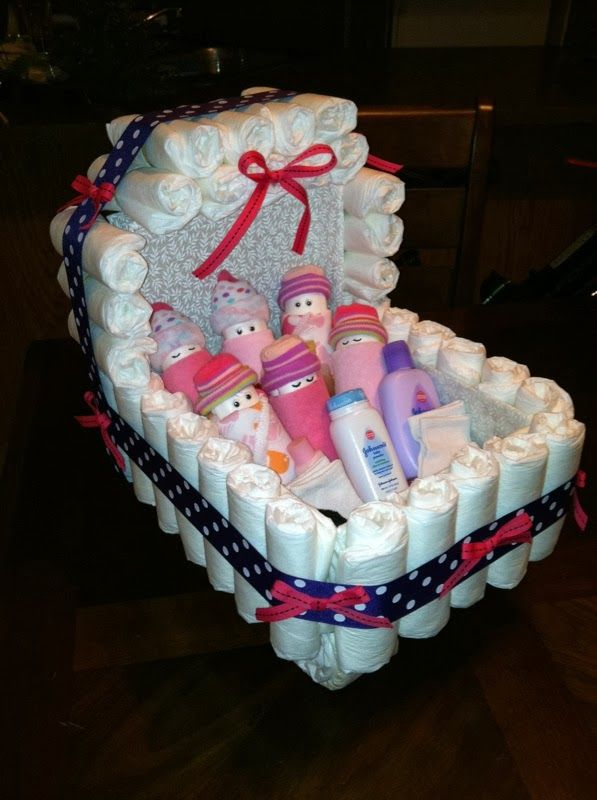 Callie May!: Diaper Baby Carriage