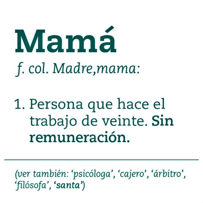 Mamá, te amo eres la mejor!