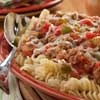 """We consider Pasta and Sausage the so-called """"meat and potatoes"""" of an Italian kitchen. Lots of peppers, onions and zippy Italian sausage make this a hearty classic recipe that is perfectly at home on top of your favorite pasta.: Food Recipes, Classic Recipes, Good Recipes, Italian Recipe"""