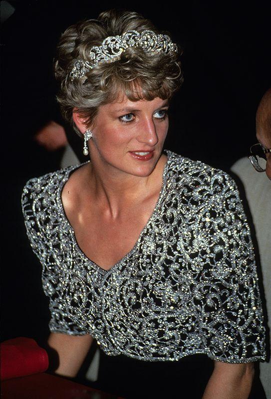 Diana de Gales como ícono de moda en la realeza