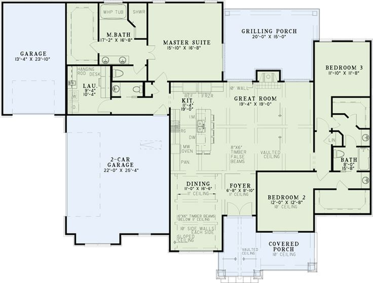 First Floor Plan of Traditional House Plan 82179. Best 25  Traditional house plans ideas on Pinterest   House plans