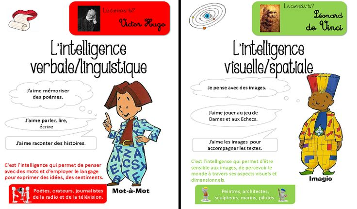 Les Intelligences Multiples                                                                                                                                                                                 Plus