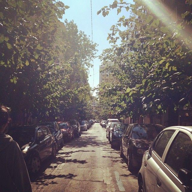 #sun #athens #greece #street